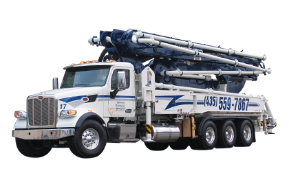 47 meter 5 section RZ Concrete Boom Pump