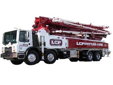 50 meter 5 section RZ Concrete Boom Pump