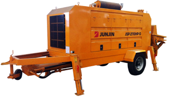 JSP-2110HP Trailer Concrete Pump