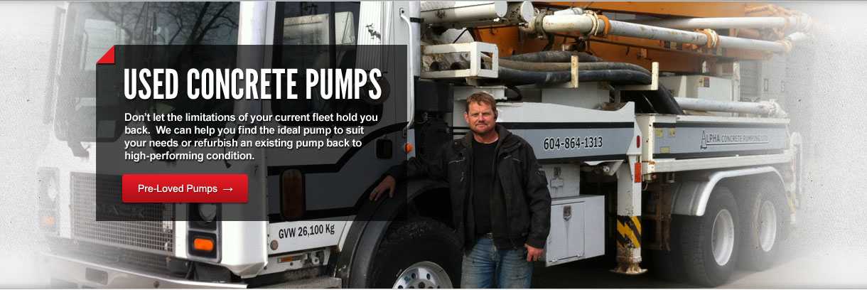Used Concrete Pumps